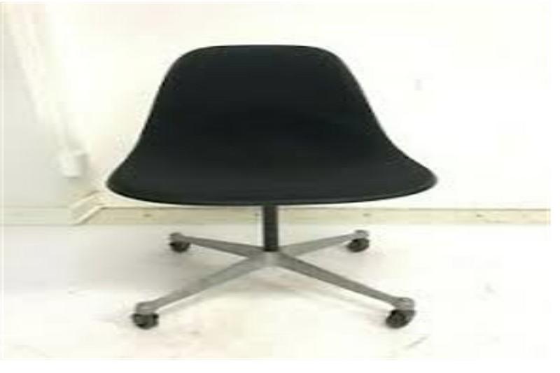 Mid-century fiberglass swivel chairs