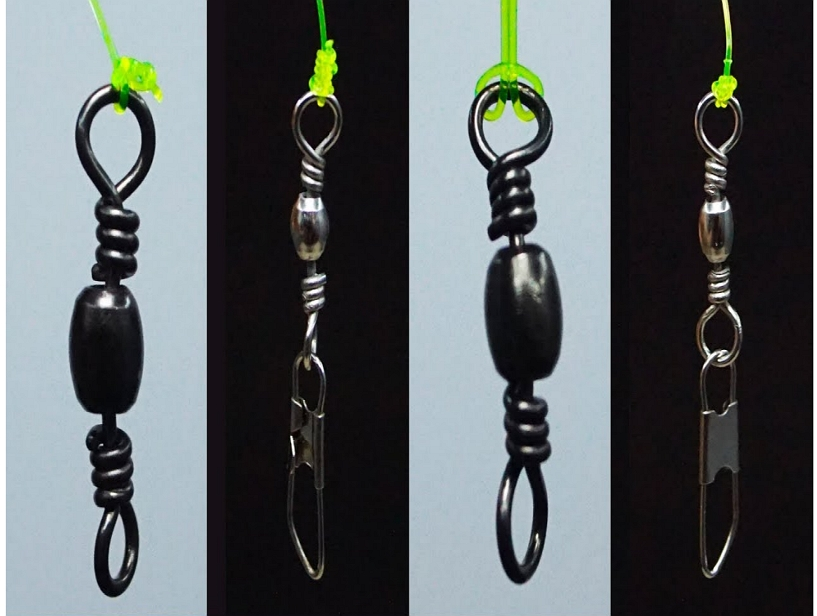 how to tie a swivel on fishing line
