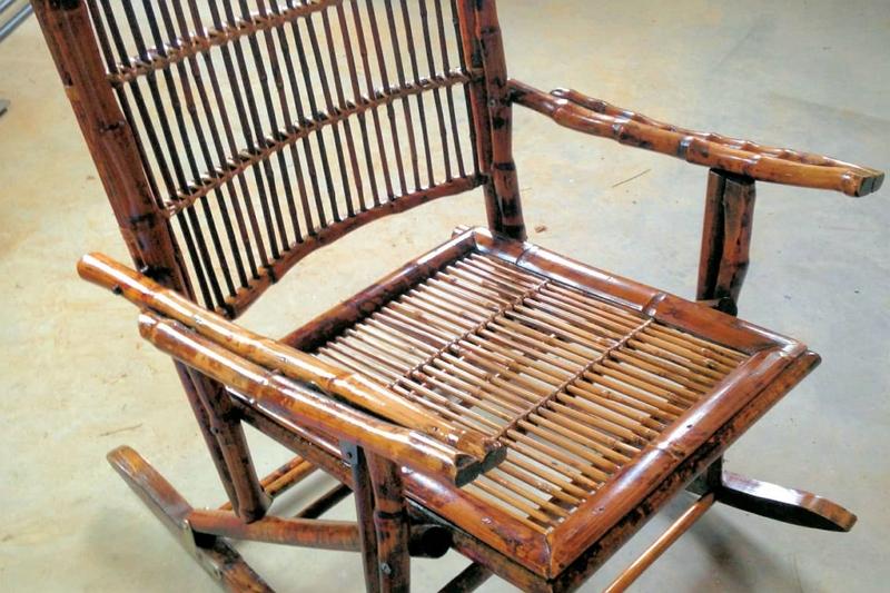 how to repair swivel bamboo barrel chair