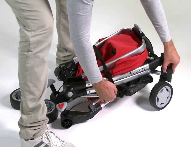 Fold a Quinny Stroller