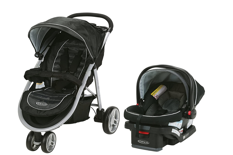 How to Fold up a Graco Aire3 Stroller