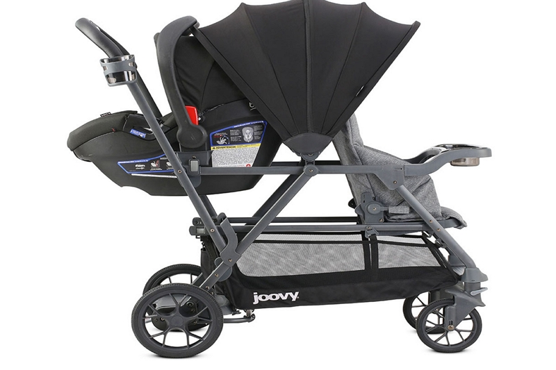 How To Close A Joovy Ultralight Double Stroller