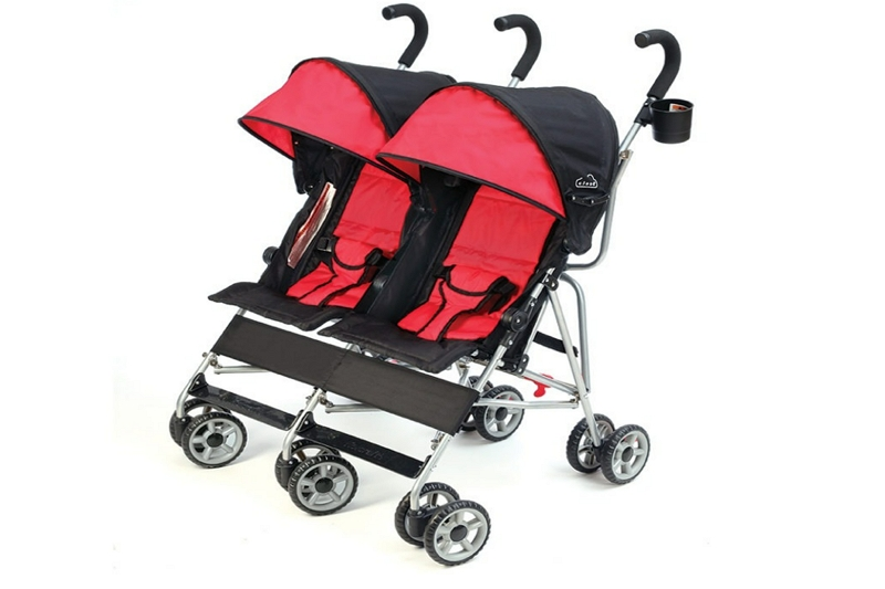 How To Fold a Kolcraft Double Stroller