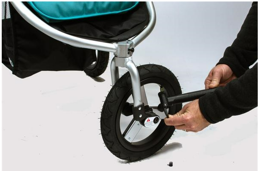 How To Put Air In A Stroller Tire