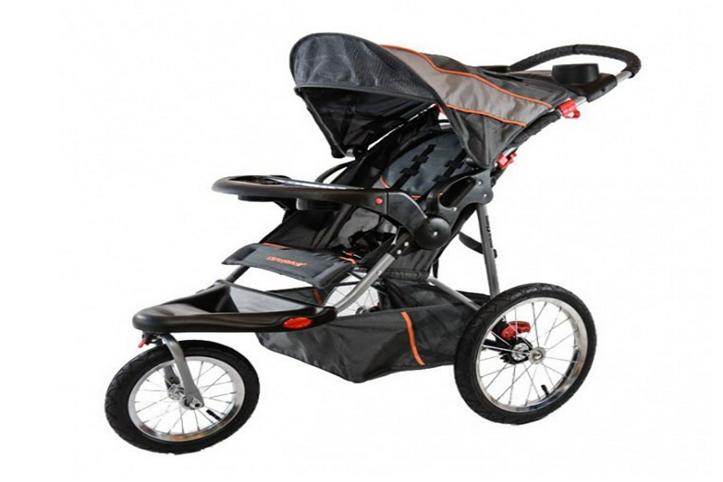 How to Collapse a Baby Trend 4 Wheel Stroller