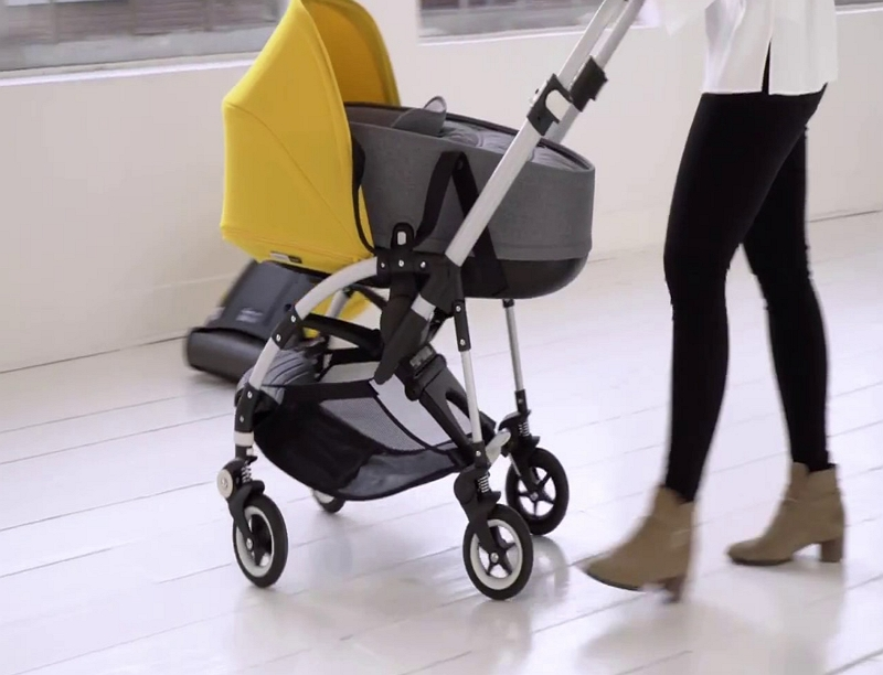How to Fold Bugaboo Bee Stroller