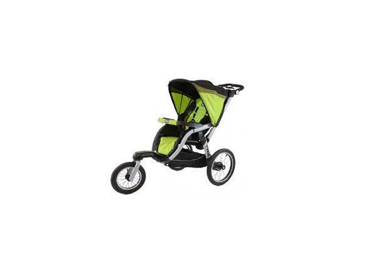 How to Fold a Chicco Tre Jogging Stroller