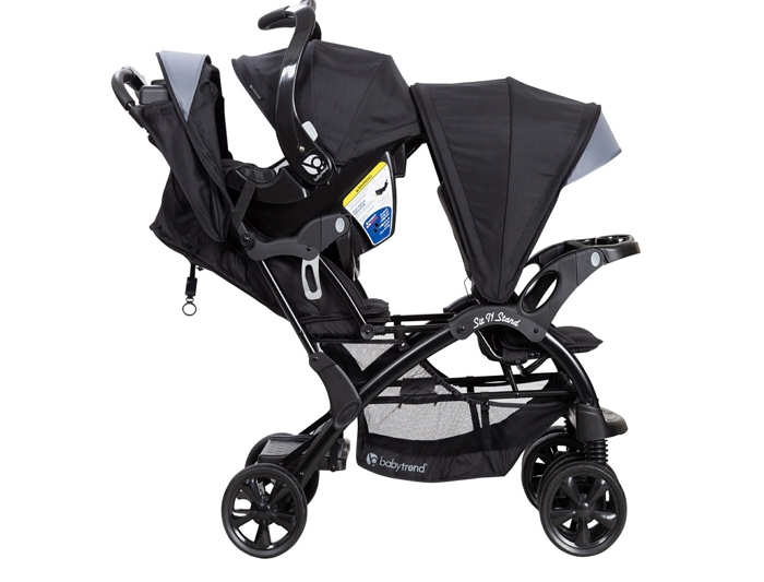 How to Fold a Sit and Stand Stroller