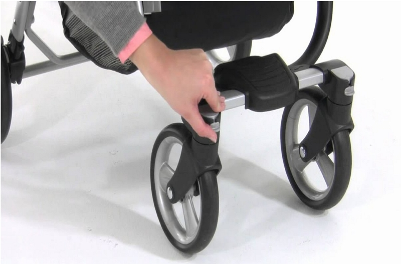 How to Unlock the Wheels on a Stroller