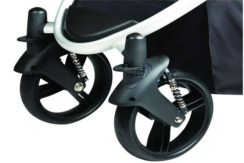 Lock the Front Wheel on a Phil and Ted Stroller