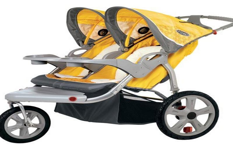 Safari double jogging stroller