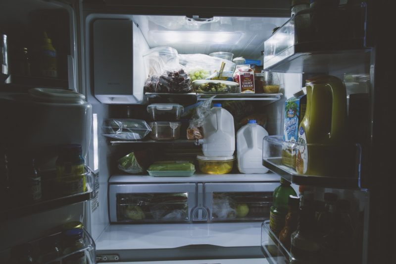 Why does my fridge smell like chemicals