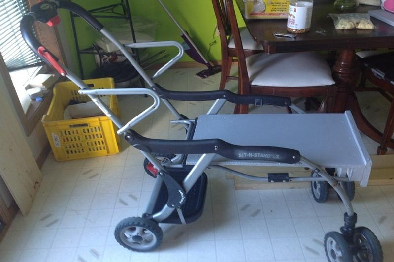 convert a baby stroller to a pet stroller