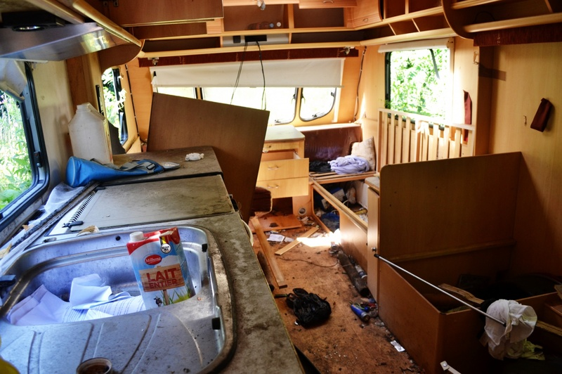 how long will water damaged rv floor be wet