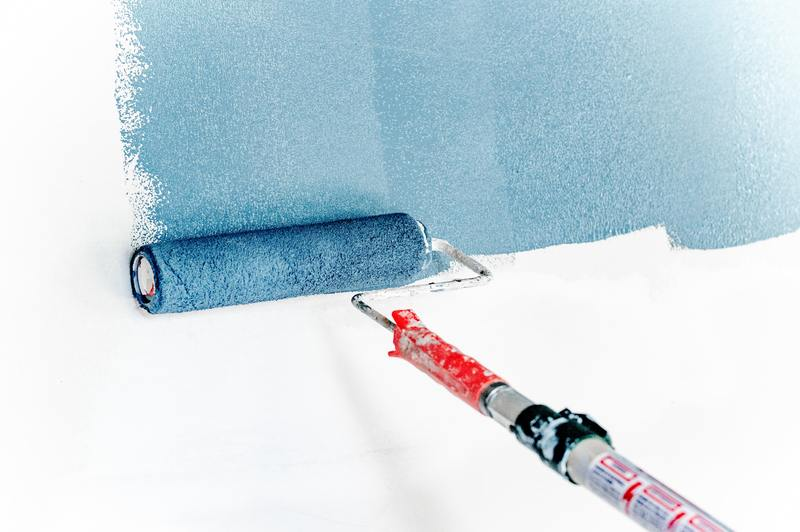 how to clean water damaged paint without paint