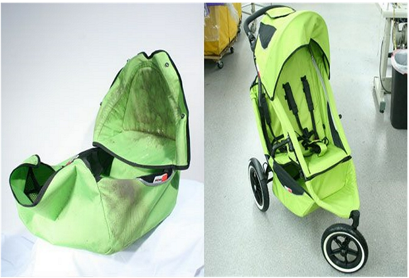 how to deodorize a stroller