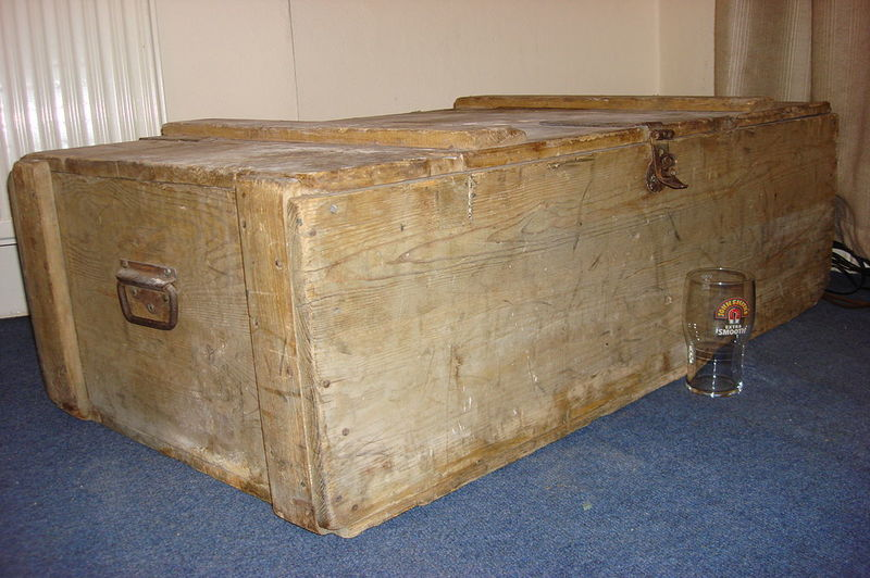 how to fix water damaged cedar chest