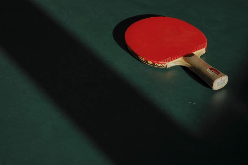 how to fix water damaged ping pong table