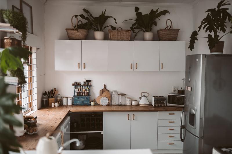 how to fix water damaged undersink kitchen cabinet