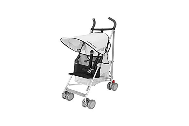 how to fold a maclaren stroller