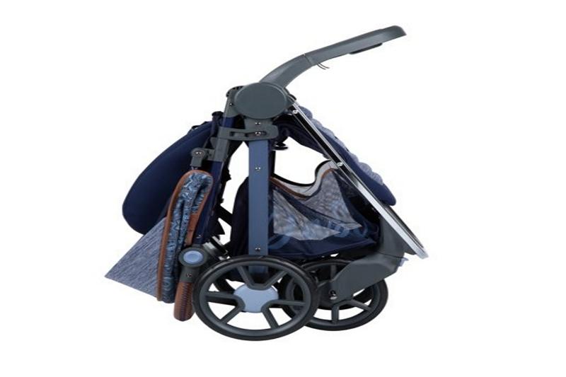 how to fold a monbebe dash stroller