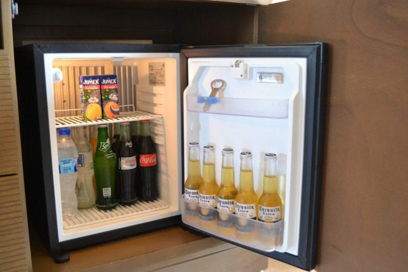 how to hide a mini-fridge at work