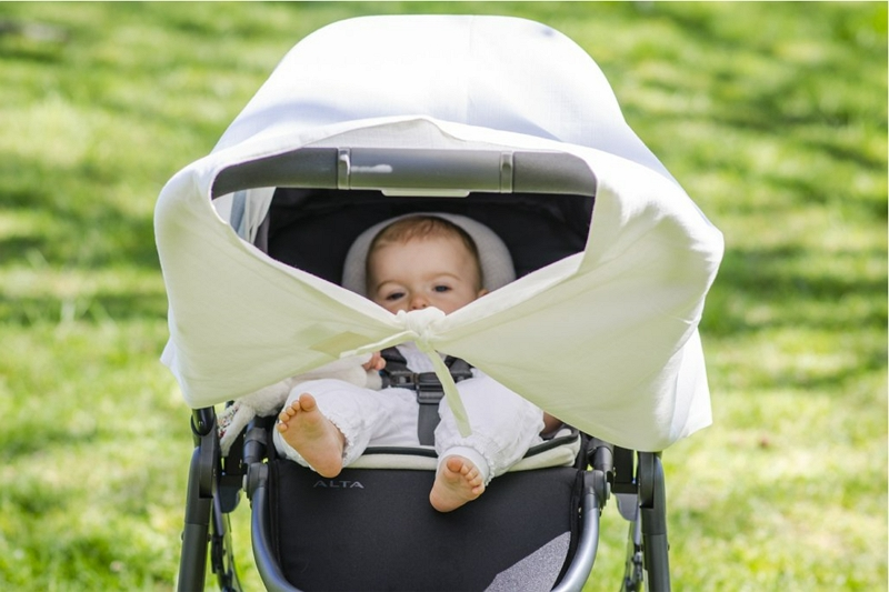 how to keep the sun out of your baby's eyes in stroller