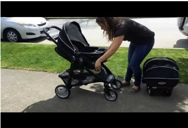 how to recline a Graco stroller seat