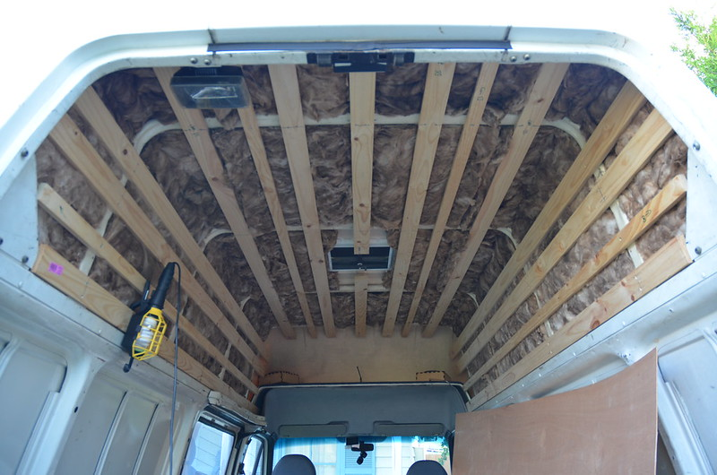 how to repair water damaged camper ceiling