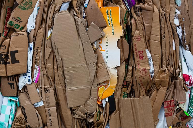how to repair water damaged cardboard