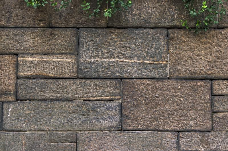 how to repair water damaged concrete block wall