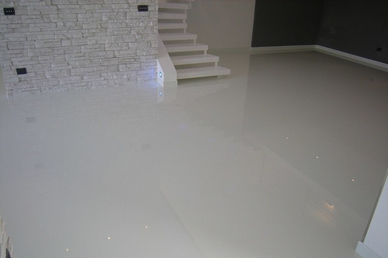 how to repair water damaged epoxy concrete floors
