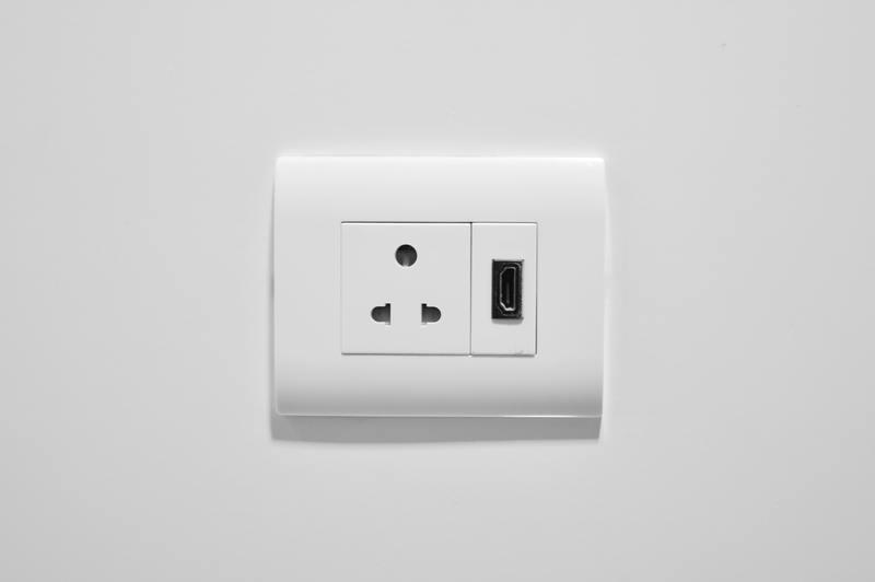 how to repair water damaged plug sockets