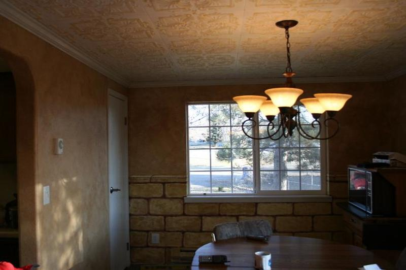 how to repair water damaged popcorn ceiling