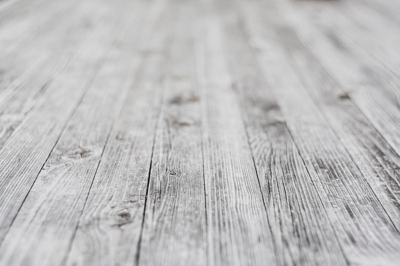 how to repair water damaged white washed wood