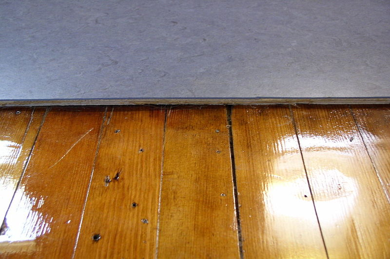 how to replace water damaged underlayment