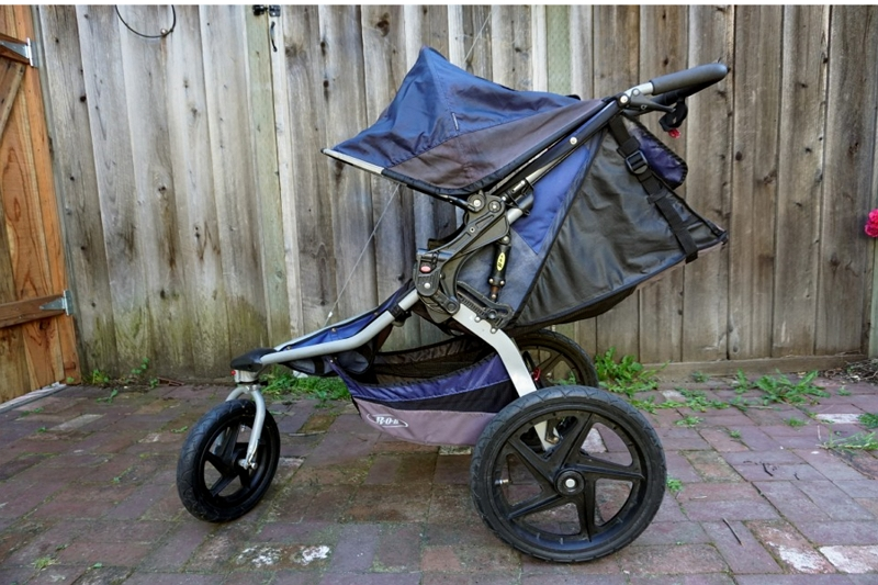 how to restore a sun faded stroller