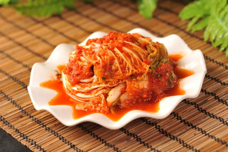 how to store kimchi in fridge