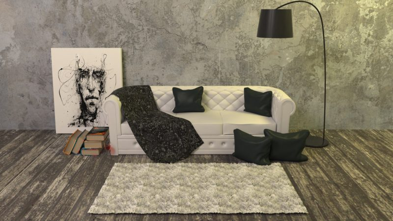 what colors go with a slate sofa and loveseat set