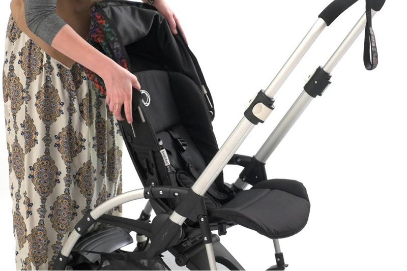 ways to remove Bugaboo Bee stroller fabric