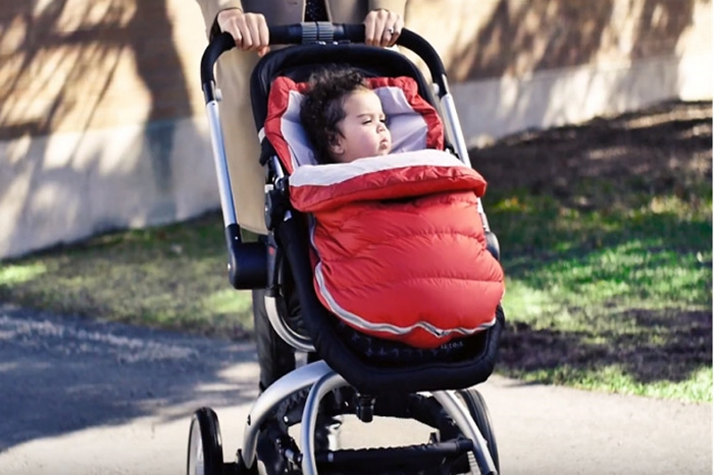 ways to keep your baby warm in a stroller