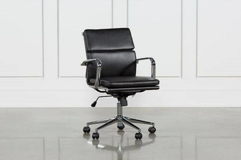 swivel chair that tilts forward