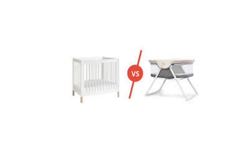 Bassinet And a Crib