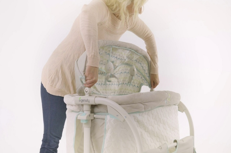 How to Lock Bassinet