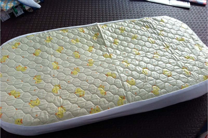 How to Make a Waterproof Bassinet Pad