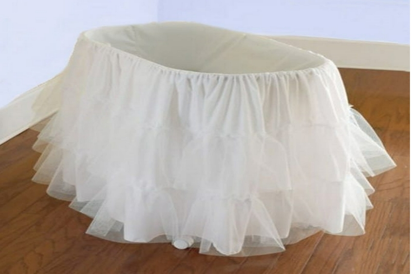 Make a Bassinet Skirt