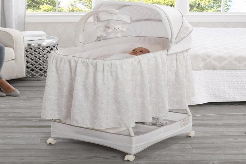 clean a Graco dreamglider bassinet