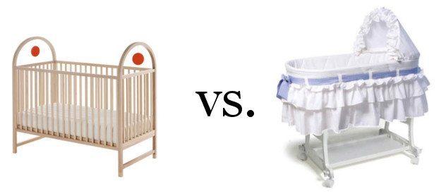 Newborn Crib vs. Bassinet