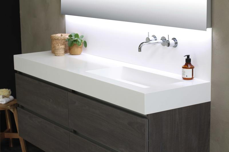 how much to replace water damaged wood under sink