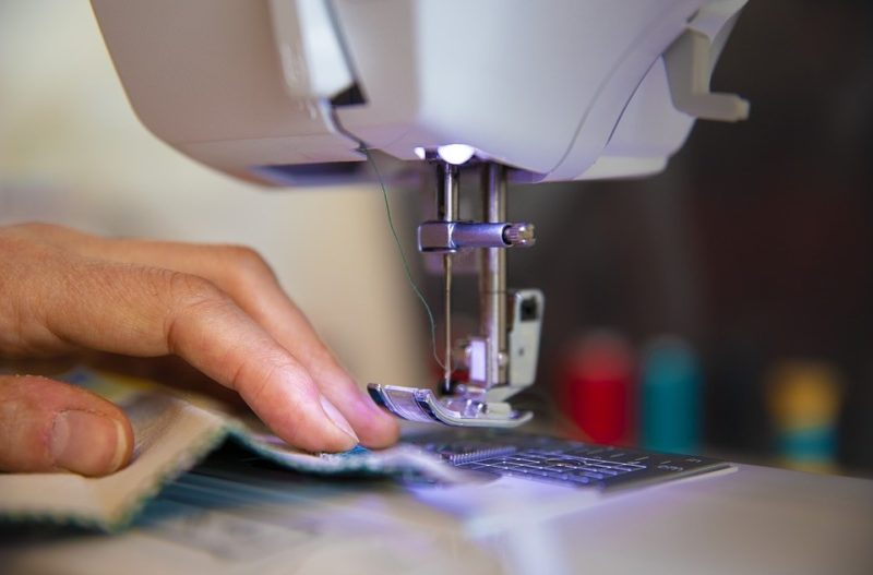 how to adjust needle position on sewing machine